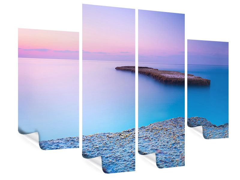 Poster 4-teilig Unendlicher Ozean
