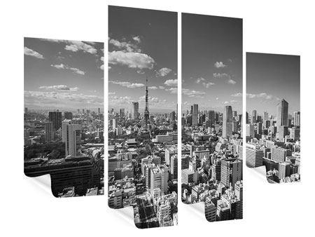 Poster 4-teilig Tokio