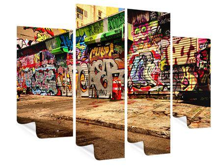 Poster 4-teilig NY Graffiti