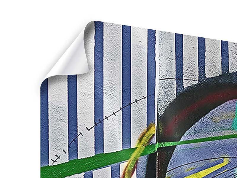 Poster 4-teilig Künstlerisches Graffiti