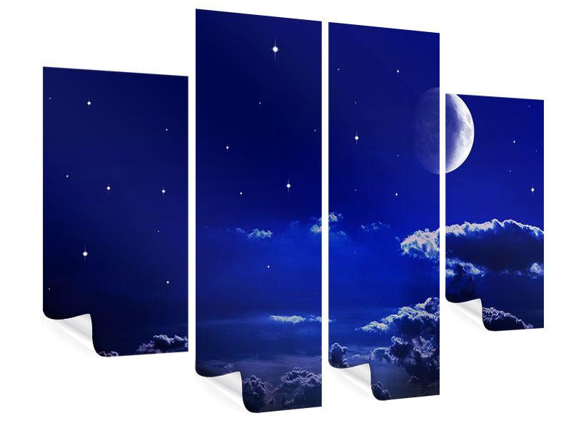 Poster 4-teilig Der Nachthimmel