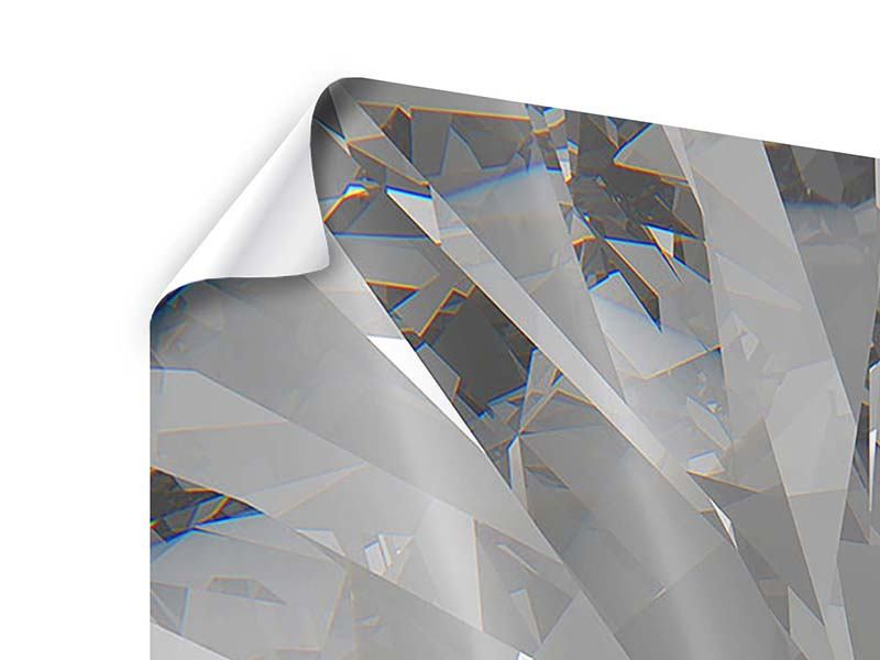 Poster 4-teilig Riesendiamant
