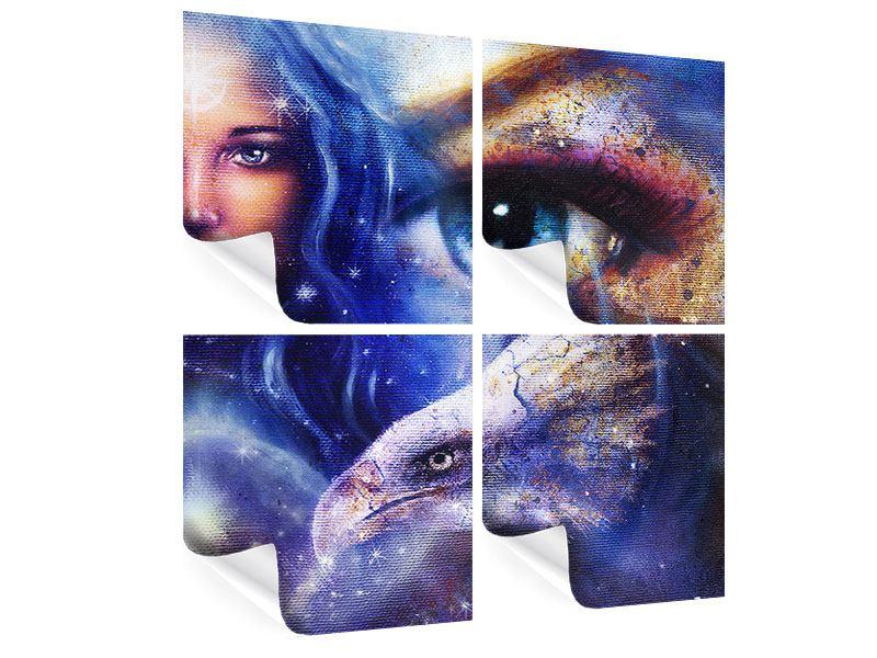 Poster 4-teilig Eyecatcher