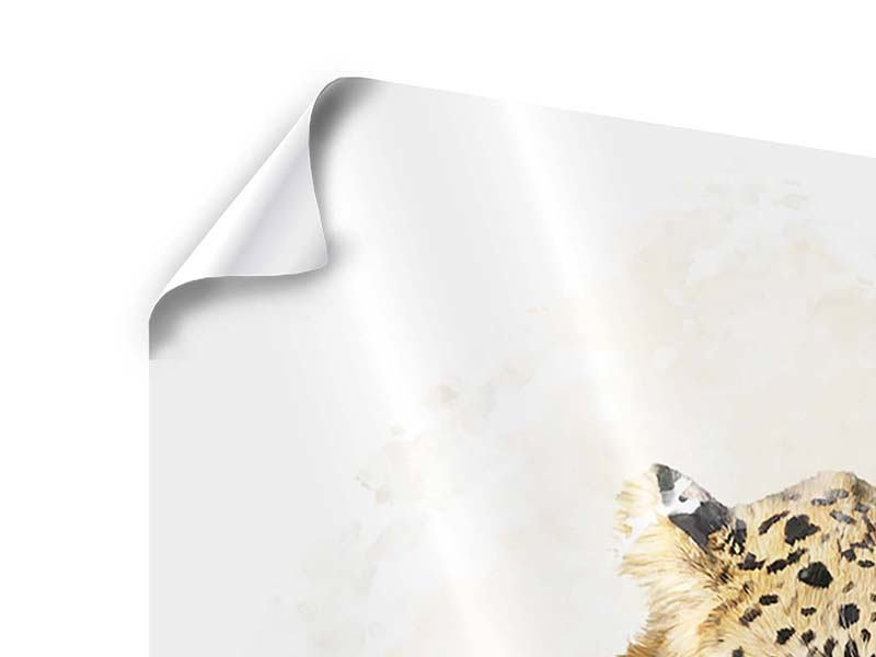 Poster 4-teilig Luxgemälde