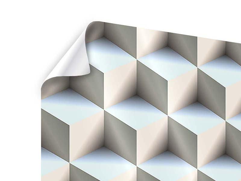 Poster 4-teilig 3D-Polytop