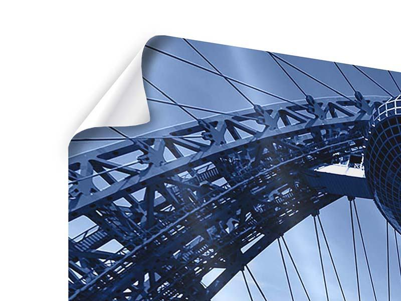 Poster 4-teilig Schiwopisny-Brücke