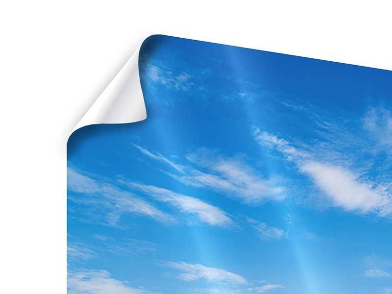 Poster 4-teilig Blaue Lagune