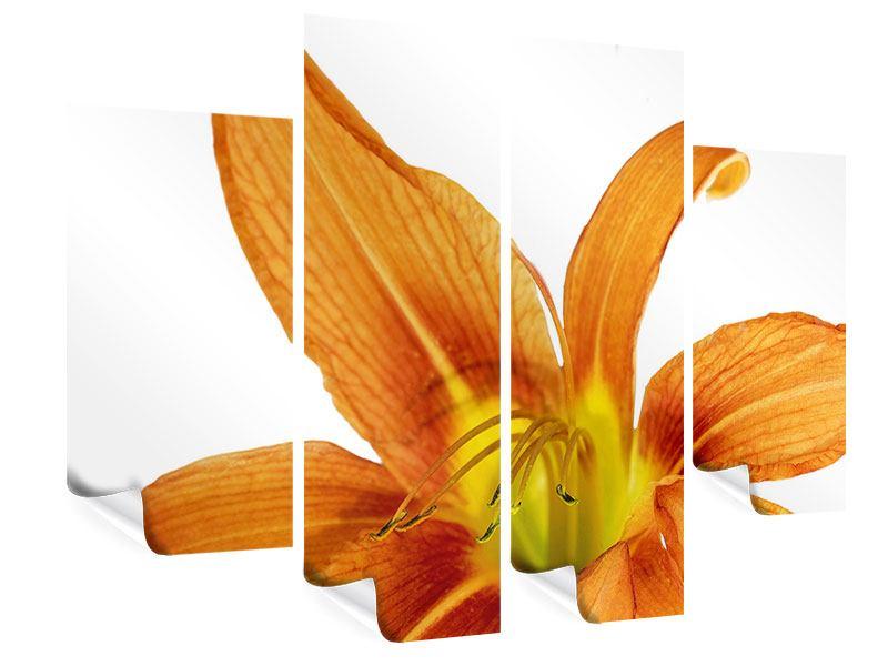 Poster 4-teilig Die Tiger-Lilie