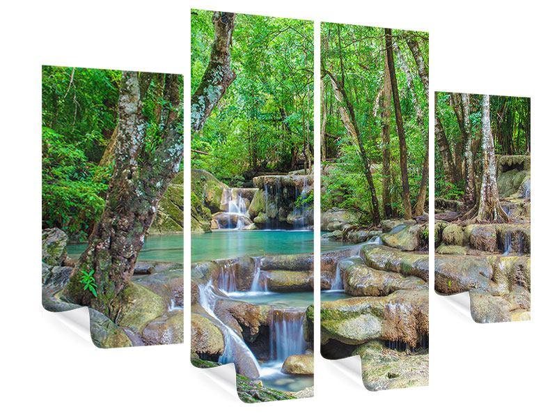 Poster 4-teilig Wasserspektakel