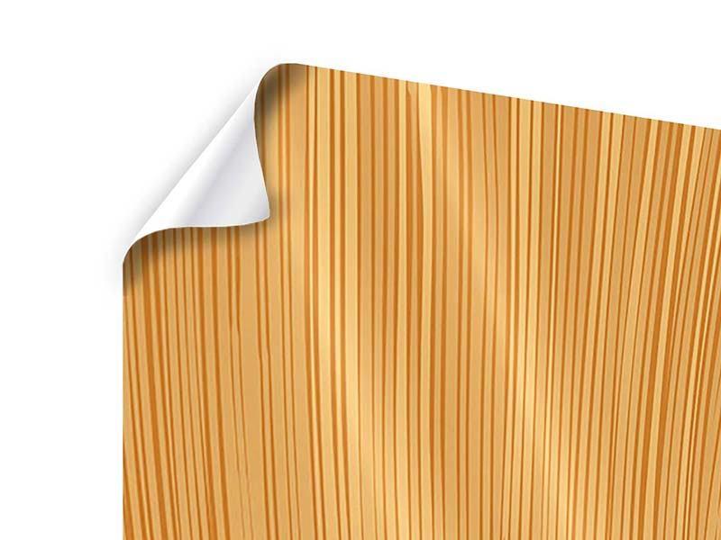 Poster 4-teilig Wooden