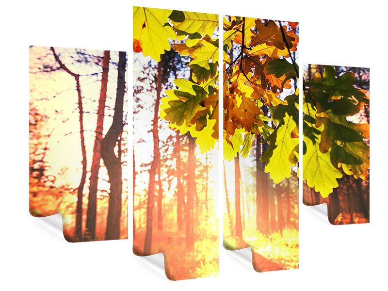 Poster 4-teilig Herbst