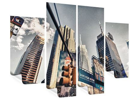 Poster 4-teilig Times Square