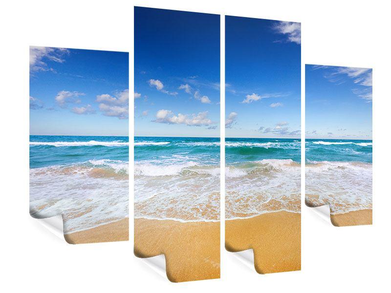 Poster 4-teilig Die Gezeiten und das Meer