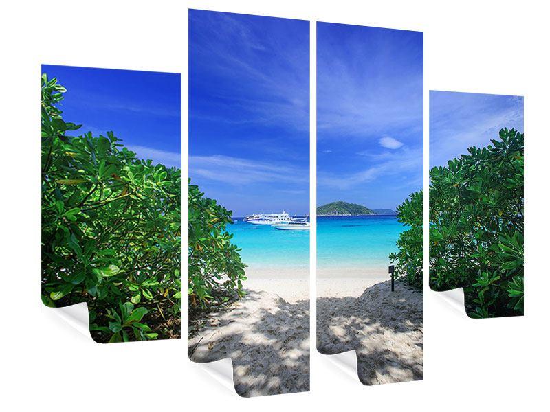 Poster 4-teilig Similan-Inseln