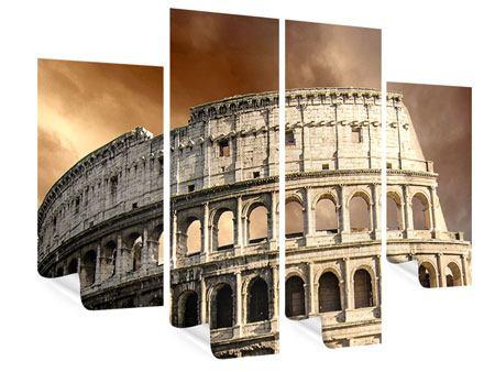 Poster 4-teilig Kolosseum Rom