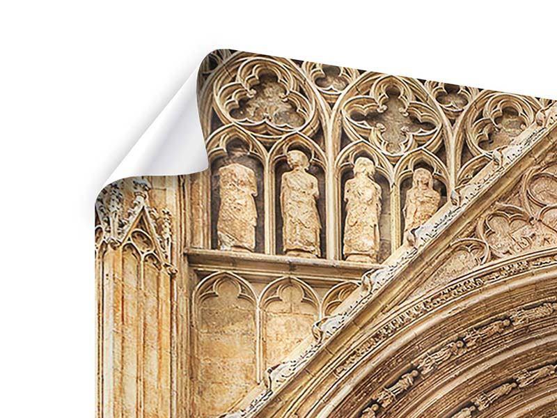 Poster 4-teilig Kathedrale von Valencia
