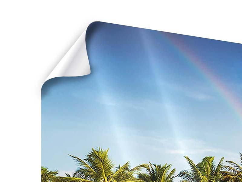 Poster 4-teilig Inselparadies