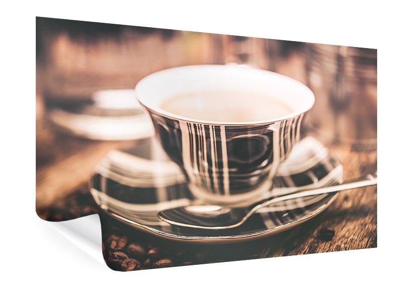 Poster Der Kaffee ist fertig
