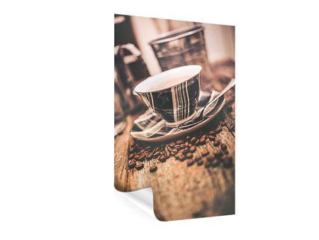 Poster Die Tasse Kaffee