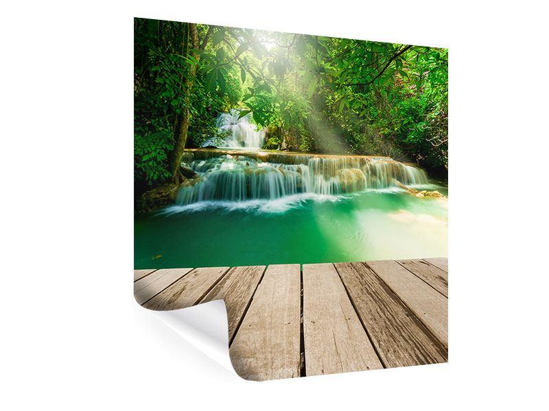 Poster Wasserfall Thailand