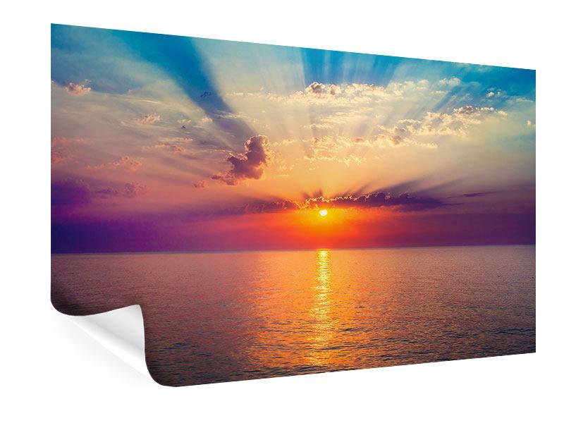 Poster Mystischer Sonnenaufgang