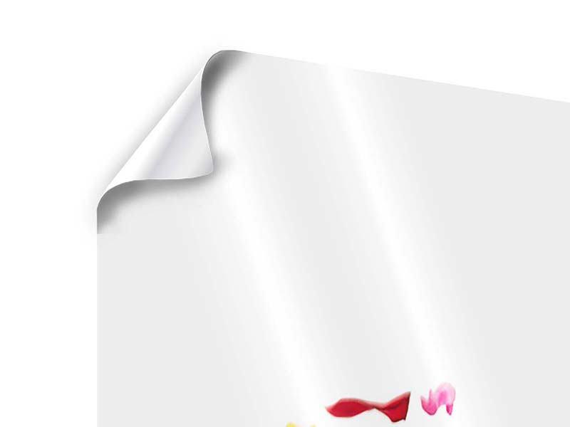 Poster Auf Rosenblätter gebettet