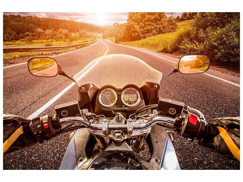 Poster Motorrad-Tour