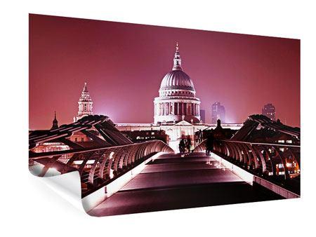 Poster Millennium Bridge