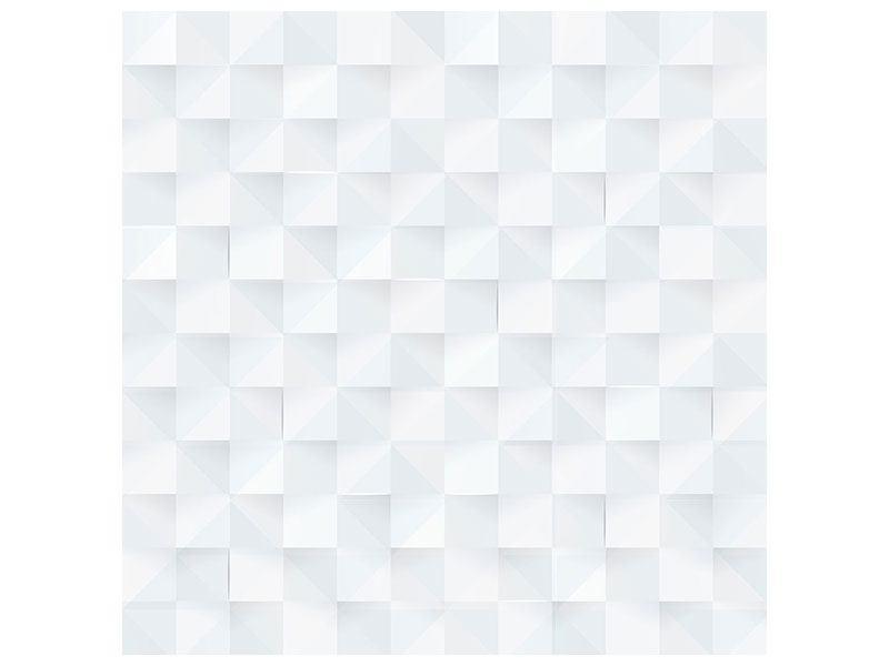 Poster 3D-Schachbrett