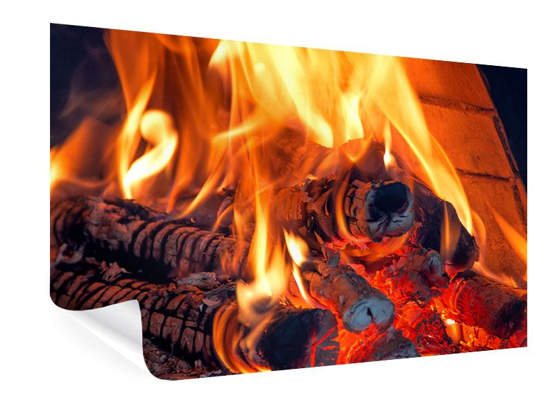 Poster Lagerfeuer