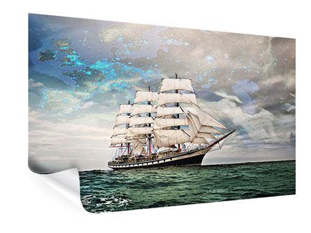 Poster Segelschiff