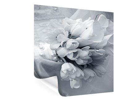 Poster Romantisches Tulpenbukett