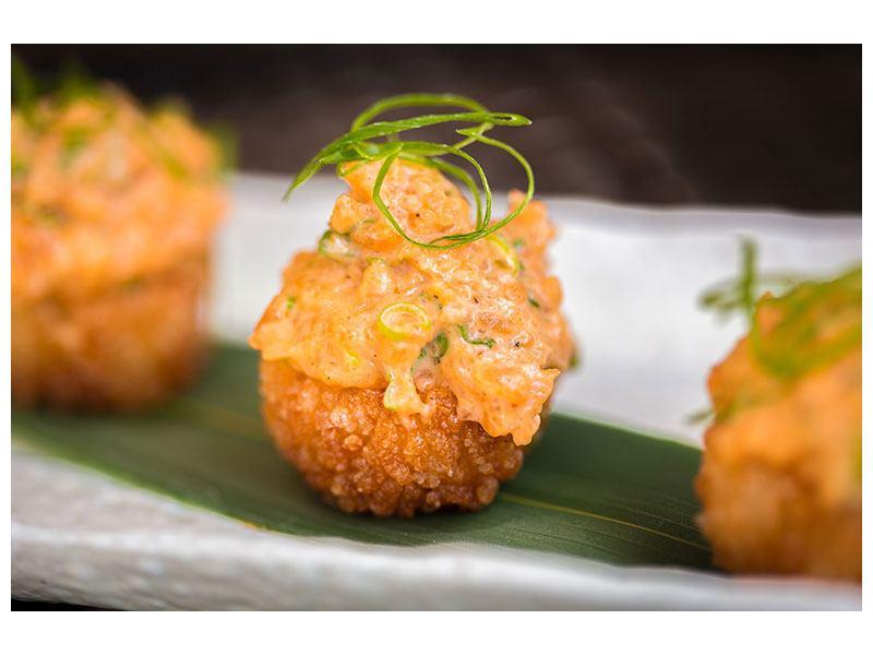 Poster Asiatische Küche