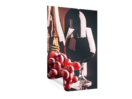 Poster Rotwein