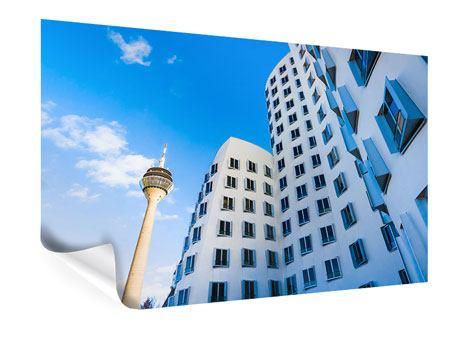Poster Neuer Zollhof Düsseldorf