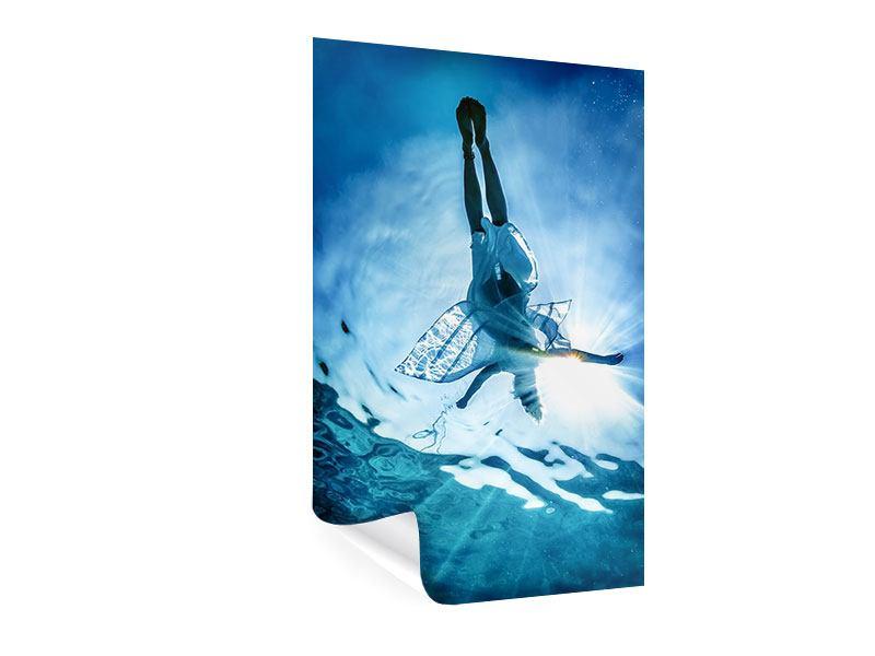 Poster Schönheit im Meer
