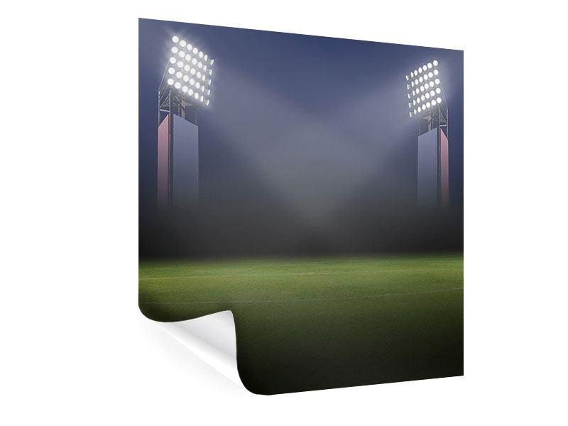 Poster Fussballstadion