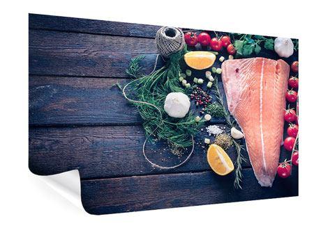 Poster Fangfrischer Fisch