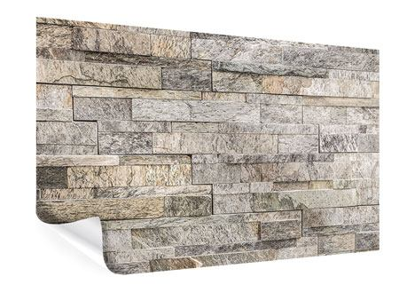 Poster Elegante Steinmauer