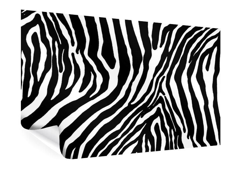 Poster Zebramuster