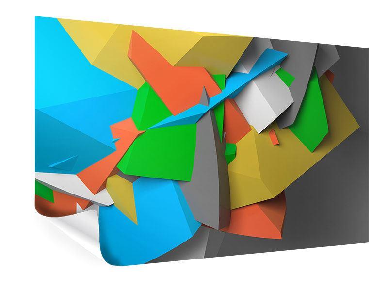 Poster 3D-Geometrische Figuren