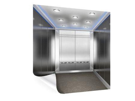 Poster Eleganter Aufzug
