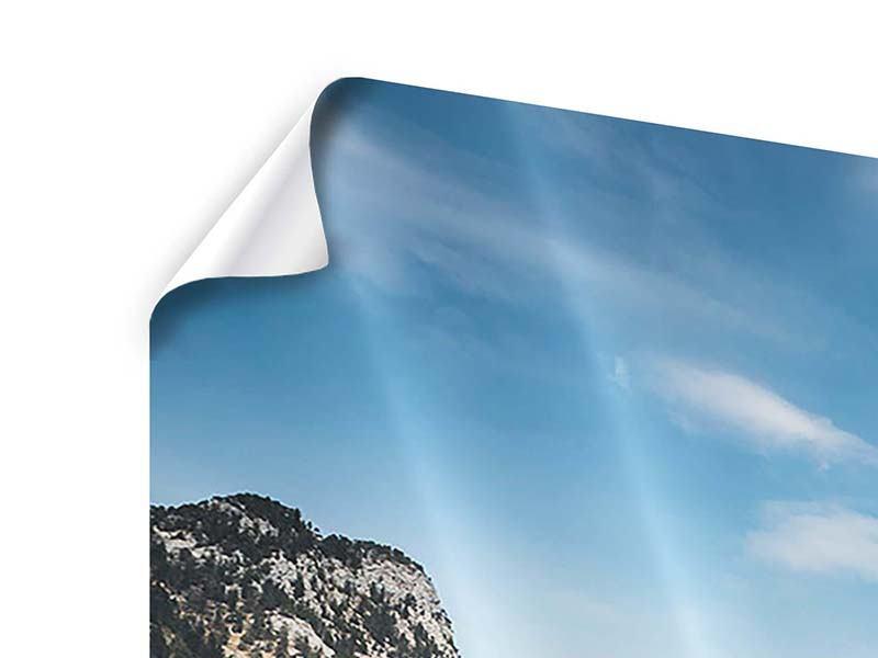 Poster Der idyllische Bergsee