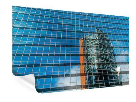 Poster Wolkenkratzer-Spiegel