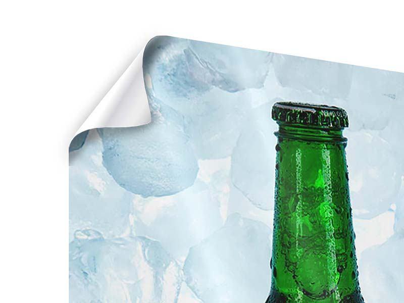 Poster Eisgekühltes Bier