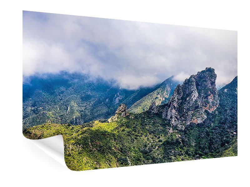 Poster Der stille Berg