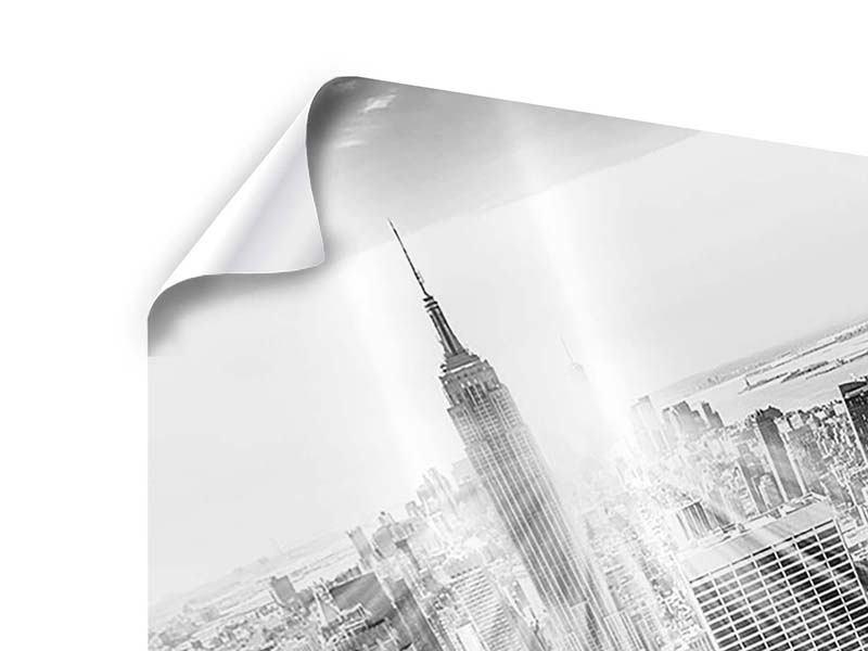 Poster Wolkenkratzer New York