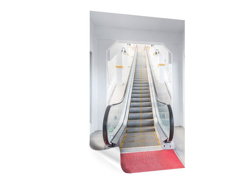 Poster Rolltreppe