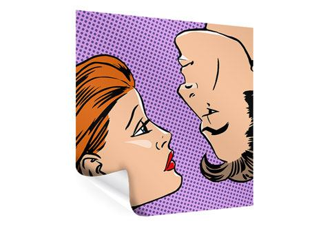 Poster Pop Art Love