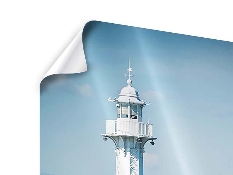 Poster Genfer Leuchtturm